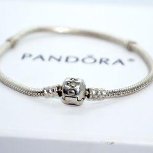 PANDORA Classic Snake Chain Bracelet, 19cm